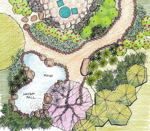 dream garden sue oda landscape architecture rh sueoda com garden schematic drawing garden schematic drawing